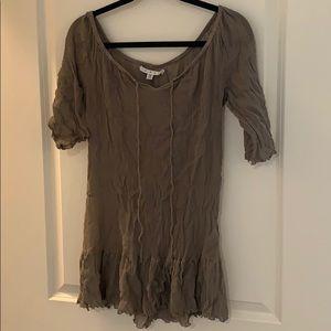 CABI brown boho tunic